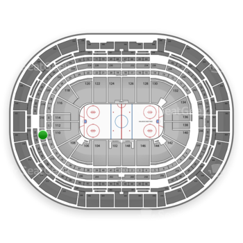 Colorado Avalanche at Pepsi Center Section 214 View