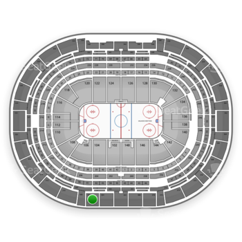 Colorado Avalanche at Pepsi Center Section 306 View