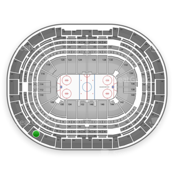 Colorado Avalanche at Pepsi Center Section 312 View