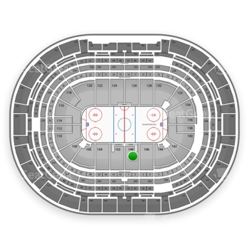 NHL at Pepsi Center Section 148 View