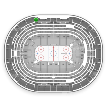 NHL at Pepsi Center Section 336 View