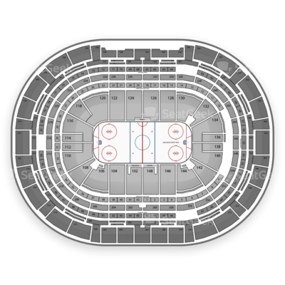 Pepsi Center seating chart Colorado Avalanche