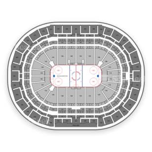 Pepsi Center Seating Chart NHL