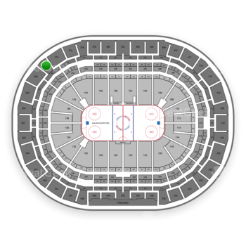 Colorado Avalanche at Pepsi Center Section 370 View