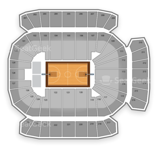 Texas A&M Aggies Basketball Seating Chart