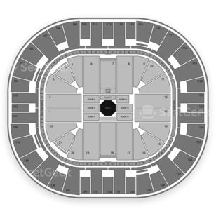 Vivint Smart Home Arena Seating Chart MMA