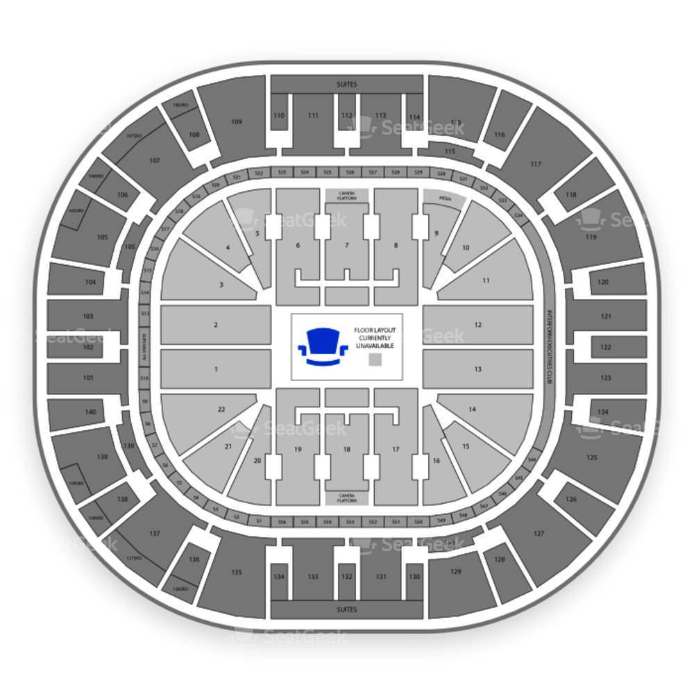 Vivint Smart Home Arena Seating Chart Parking