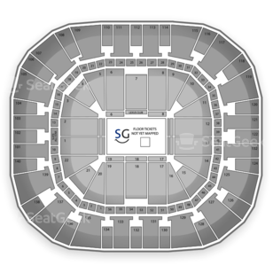 EnergySolutions Arena Seating Chart Concert