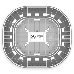 EnergySolutions Arena Seating Chart Wwe