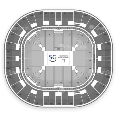 EnergySolutions Arena seating chart Disney On Ice: Let's Celebrate