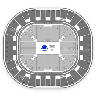 Vivint Smart Home Arena Seating Chart Family