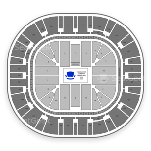 Vivint Smart Home Arena Seating Chart Comedy