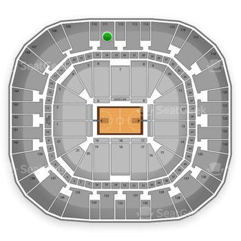 EnergySolutions Arena Seat Views  SeatGeek