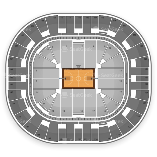 Utah Jazz Seating Chart Amp Interactive Map  SeatGeek