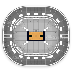 Vivint Smart Home Arena Seating Chart NCAA Basketball