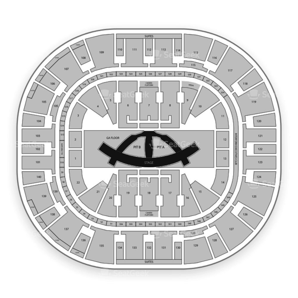 Vivint Smart Home Arena Seating Chart Concert