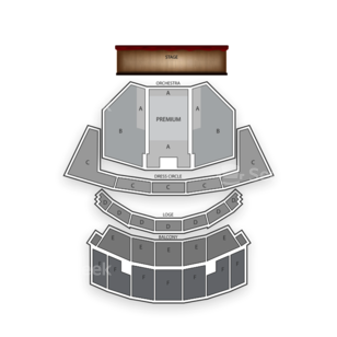 Cadillac Palace Theatre Seating Chart Concert