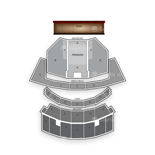 Cadillac Palace Seating Chart Theater