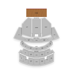 Cadillac Palace Theatre Seating Chart Family