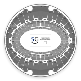 The Forum Seating Chart Wwe