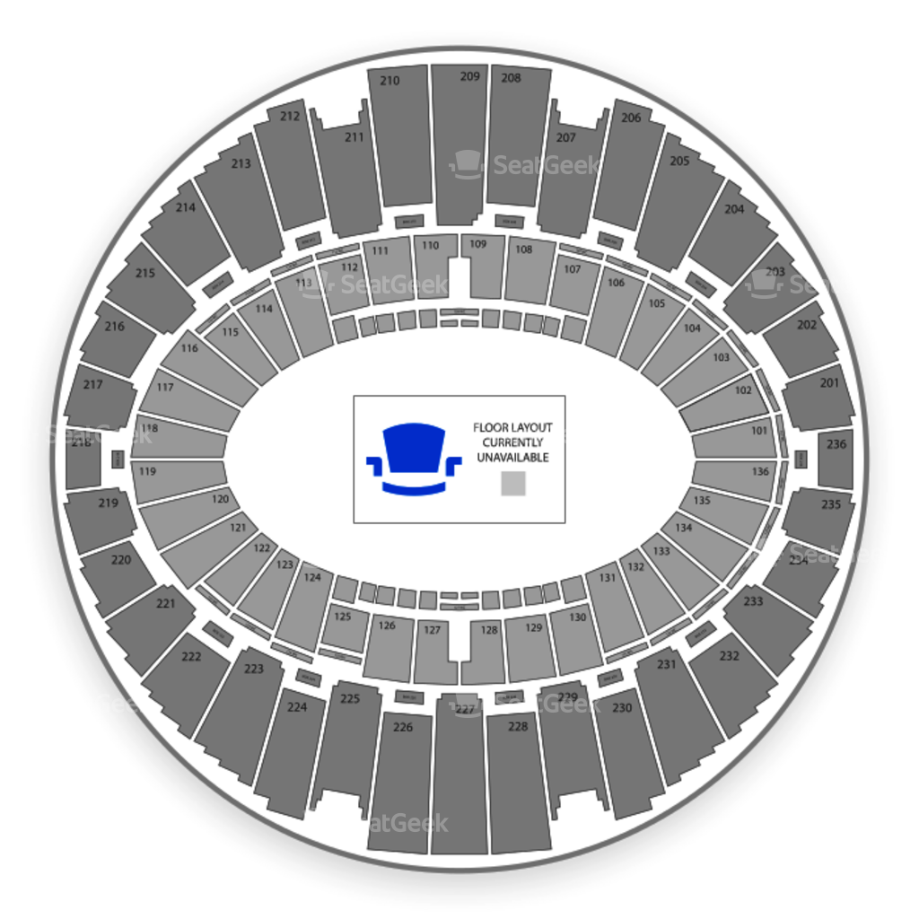 The Forum Seating Chart Interactive Seat Map SeatGeek - Us open venue map
