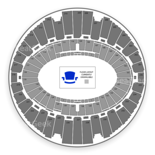 The Forum Seating Chart Wrestling
