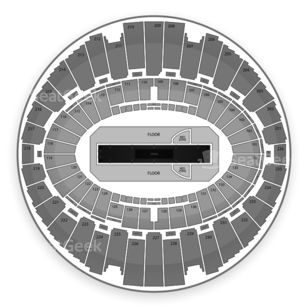 The Forum Seating Chart Concert