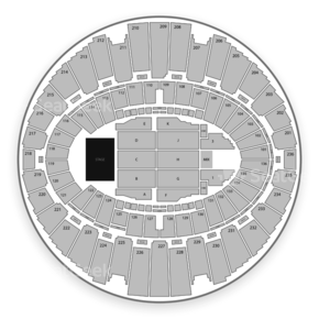 Los Angeles Forum Seating Chart Trinity