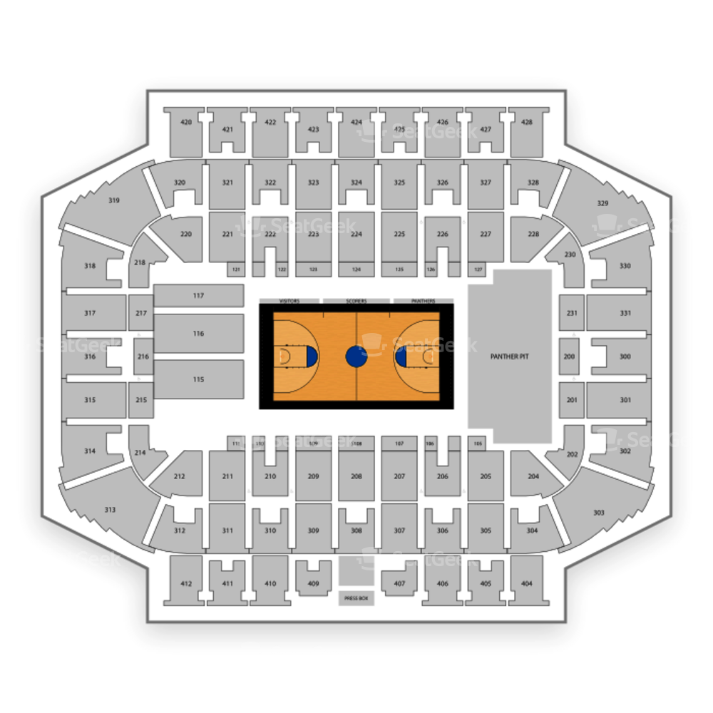 Milwaukee Panthers Basketball Seating Chart