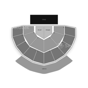 Greek Theatre - Berkeley Seating Chart Concert