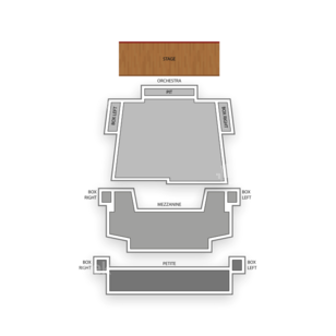 Hammons Hall for the Performing Arts Seating Chart Family