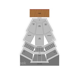 Wolf Trap Seating Chart Classical