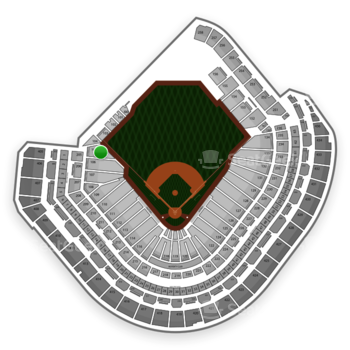 MLB at Minute Maid Park Section 105 View