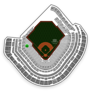 MLB at Minute Maid Park Section 107 View