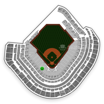 MLB at Minute Maid Park Section 114 View