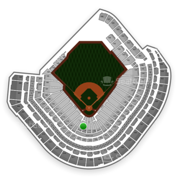 MLB at Minute Maid Park Section 118 View