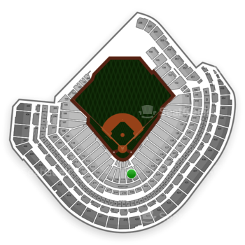 MLB at Minute Maid Park Section 120 View