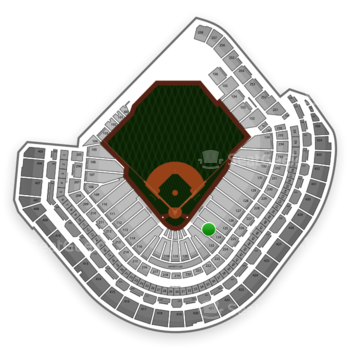 MLB at Minute Maid Park Section 124 View