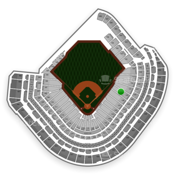 MLB at Minute Maid Park Section 129 View
