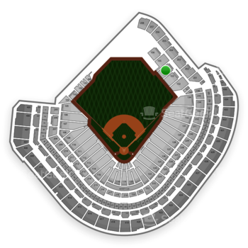 MLB at Minute Maid Park Section 154 View