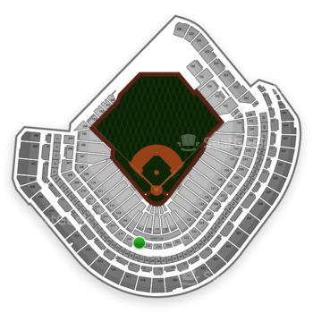MLB at Minute Maid Park Section 217 View