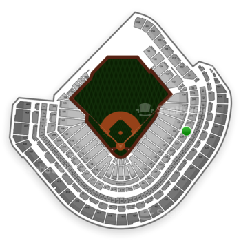 MLB at Minute Maid Park Section 230 View
