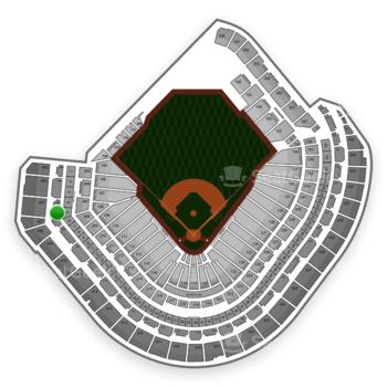 MLB at Minute Maid Park Section 307 View