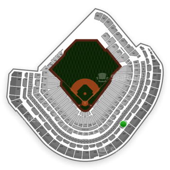 MLB at Minute Maid Park Section 325 View