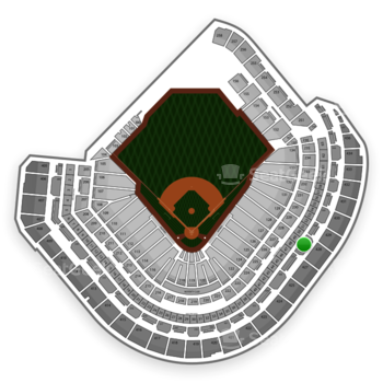 MLB at Minute Maid Park Section 328 View