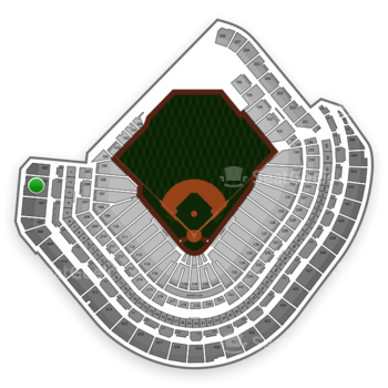 MLB at Minute Maid Park Section 406 View