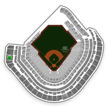 MLB at Minute Maid Park Section 407 View