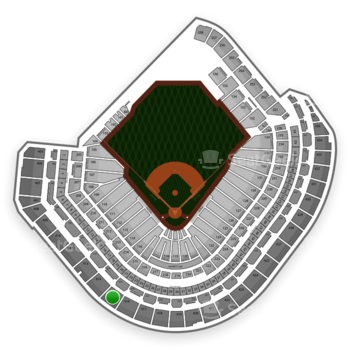MLB at Minute Maid Park Section 415 View