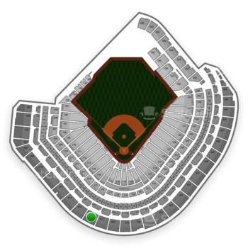 MLB at Minute Maid Park Section 416 View