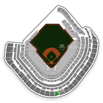 MLB at Minute Maid Park Section 420 View